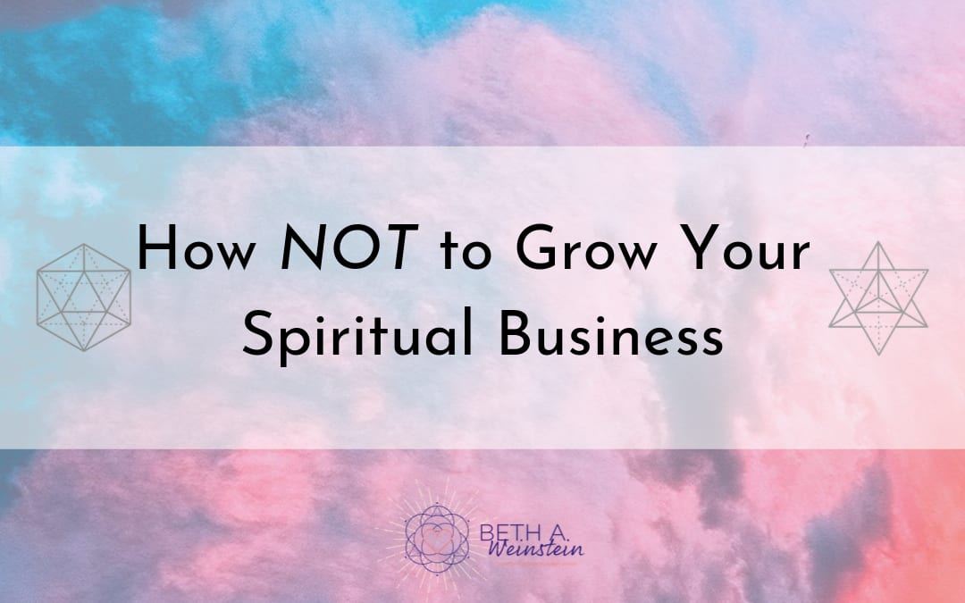 How NOT to learn to grow your business