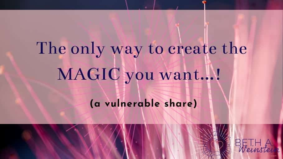 The only way to create the MAGIC you want...! (a vulnerable share)