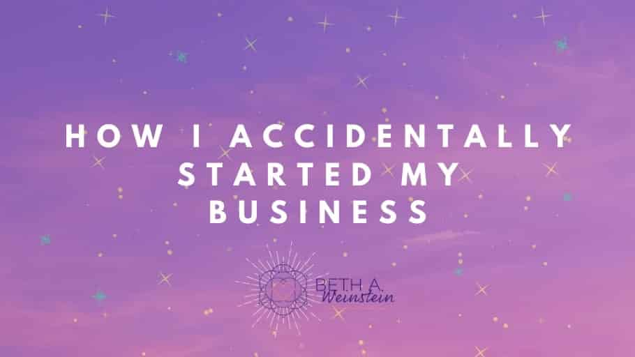 How I accidentally started my coaching business