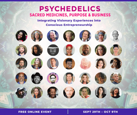 Psychedelics, Sacred Medicines, Purpose, & Business