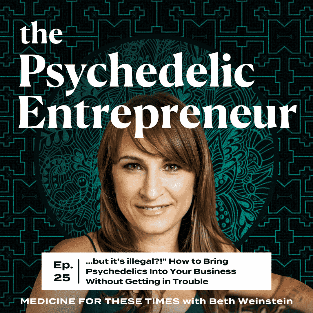 """Beth Weinstein: …but it's illegal?!"""" How to Bring Psychedelics Into Your Business Without Getting in Trouble"""